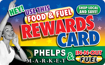 Phelps Market Rewards-card