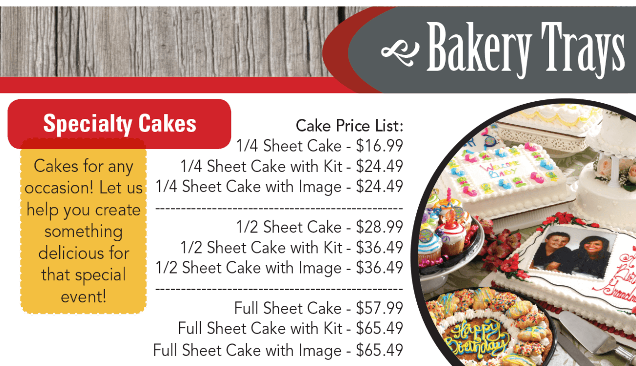 Cakes for any occasion! Let us help you create something delicious for that special event!